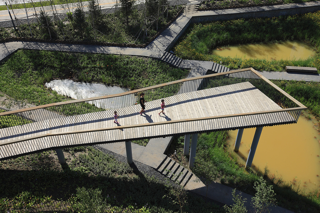 Courtesy of Turenscape. ImageQunli Stormwater Wetland Park / Turenscape